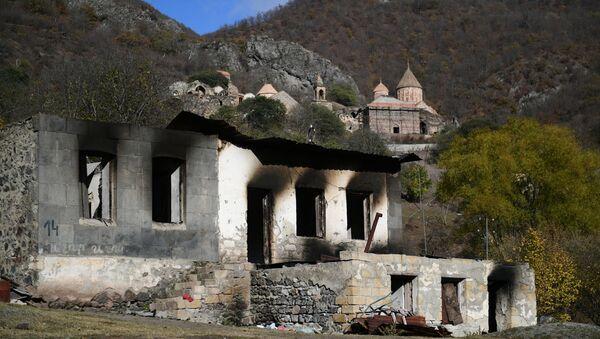 Ситуация в Нагорном Карабахе - Sputnik Азербайджан