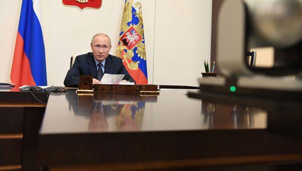 Президент России Владимир Путин - Sputnik Azərbaycan