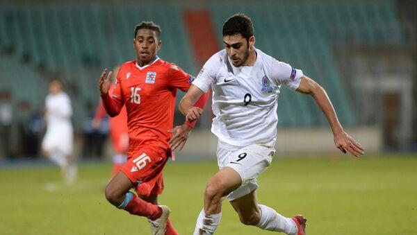 Матч последнего тура группового раундп Лиги наций УЕФА между сборными Азербайджана и Люксембурга - Sputnik Азербайджан