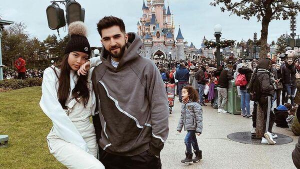 Эльман Зейналов и Маргарита Зейналова, фото из архива - Sputnik Азербайджан