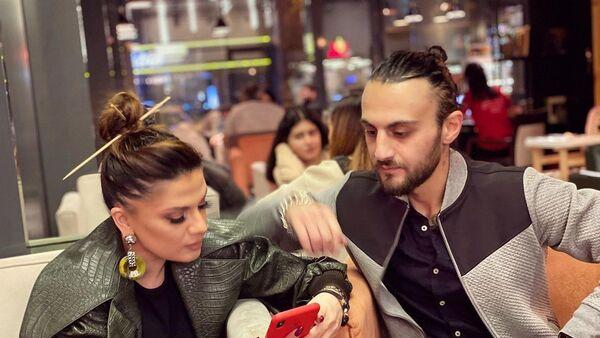 Певица Натаван Хабиби и рэпер Дадо (Саид Алиев) - Sputnik Азербайджан