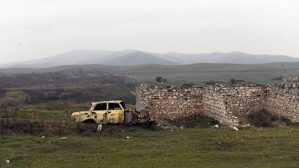 Перешедшие под контроль Азербайджана территории Физулинского района - Sputnik Azərbaycan