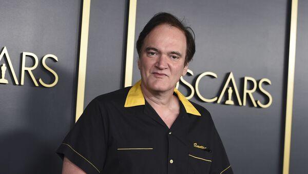 Kventin Tarantino, arxiv şəkli - Sputnik Azərbaycan
