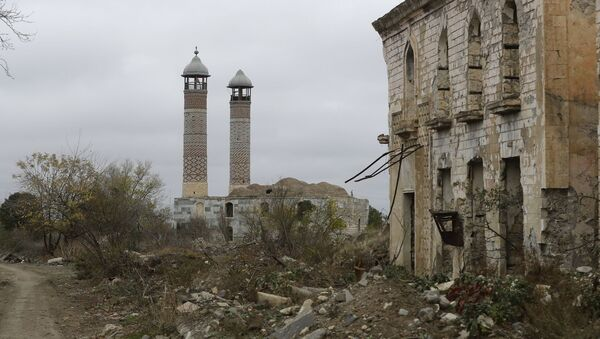 Мечеть Джума в Агдаме, фото из архива - Sputnik Азербайджан