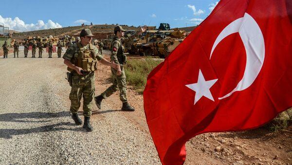 Турецкие военнослужащие, фото из архива - Sputnik Azərbaycan