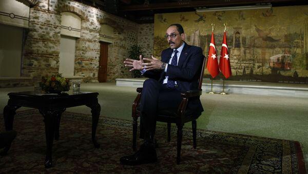 Пресс-секретарь президента Турции Ибрагим Калын, фото из архива - Sputnik Азербайджан