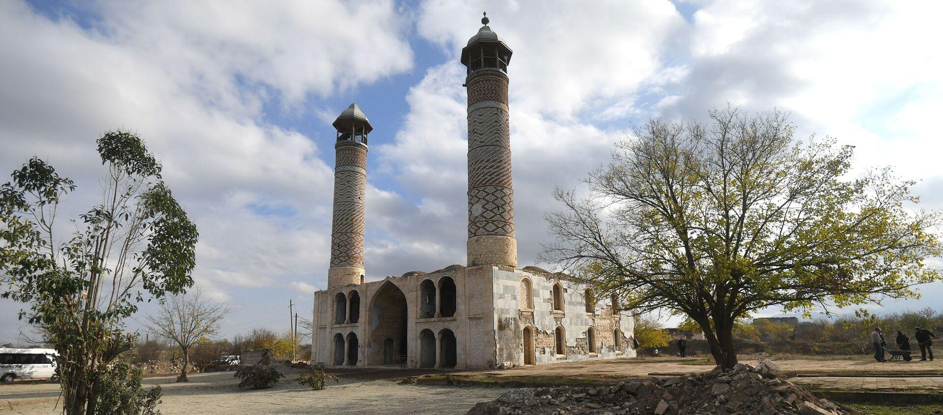 Город Агдам после его возвращения Азербайджану - Sputnik Азербайджан, 1920, 29.03.2021