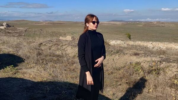 Джейла Сеидова, фото из архива - Sputnik Азербайджан