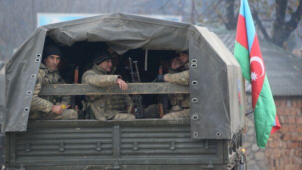 Азербайджанская армия вошла в Кельбаджарский район - Sputnik Азербайджан