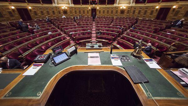 Сенат Франции, фото из архива - Sputnik Azərbaycan