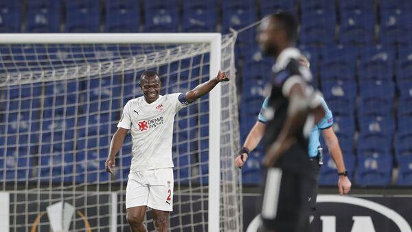 Матч 4-го тура групповой стадии Лиги Европы между турецким «Сивасспором» и азербайджанским «Карабахом» - Sputnik Azərbaycan