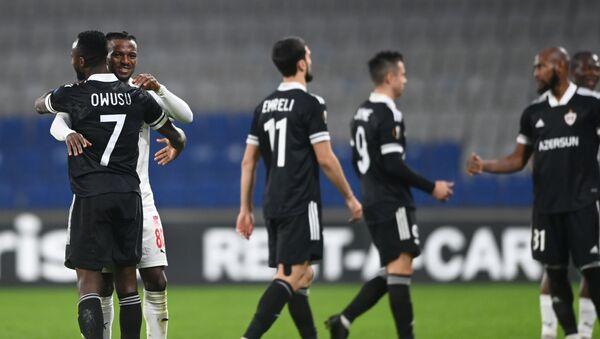 Матч 4-го тура групповой стадии Лиги Европы между турецким «Сивасспором» и азербайджанским «Карабахом»  - Sputnik Азербайджан