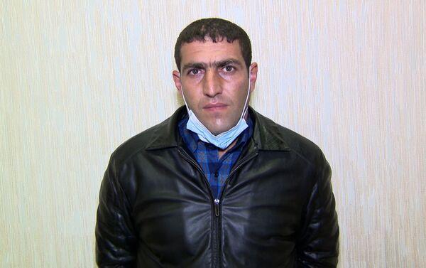 Задержанный Эльшан Гусейнов - Sputnik Азербайджан