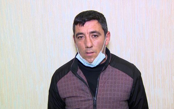 Задержанный Эхтибар Мухтаров - Sputnik Азербайджан
