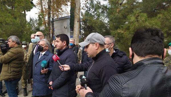 Diplomatik korpusun nümayəndələri - Sputnik Azərbaycan