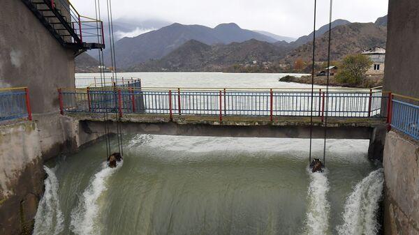 Суговушанское водохранилище, фото из архива - Sputnik Азербайджан