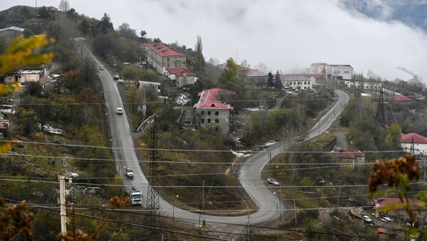 Город Лачин Лачинского района Азербайджану - Sputnik Азербайджан