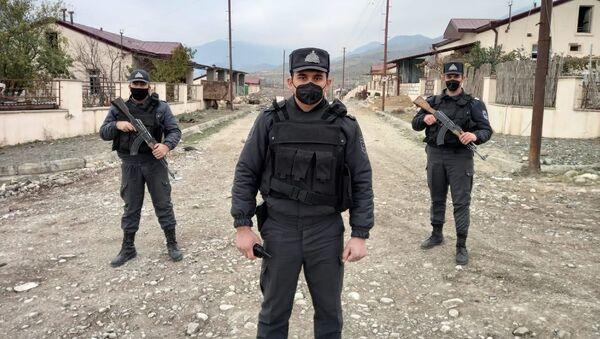 DİN əməkdaşları Suqovşanda, arxiv şəkli - Sputnik Азербайджан