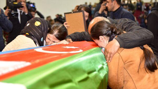 Похороны шехидов  - Sputnik Azərbaycan