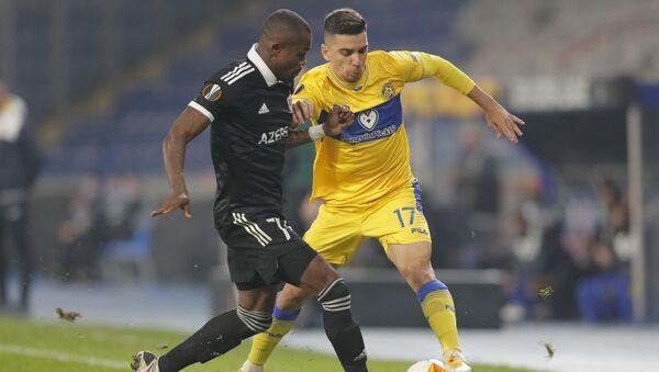 Матч пятого тура групповой стадии Лиги Европы между азербайджанским «Карабахом» и израильским «Маккаби» - Sputnik Azərbaycan
