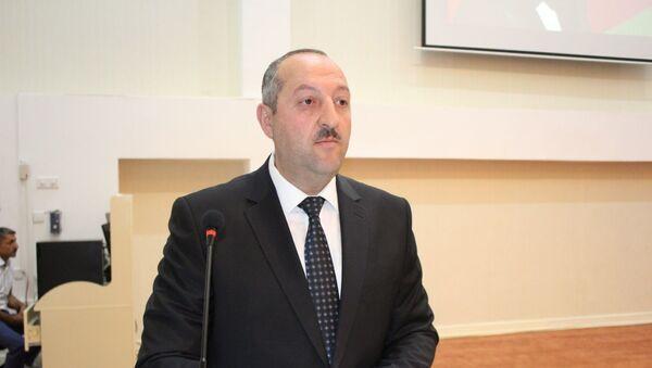 Cəlilabad rayon İcra Hakimiyyətinin başçısı Namiq Zeynalov - Sputnik Азербайджан