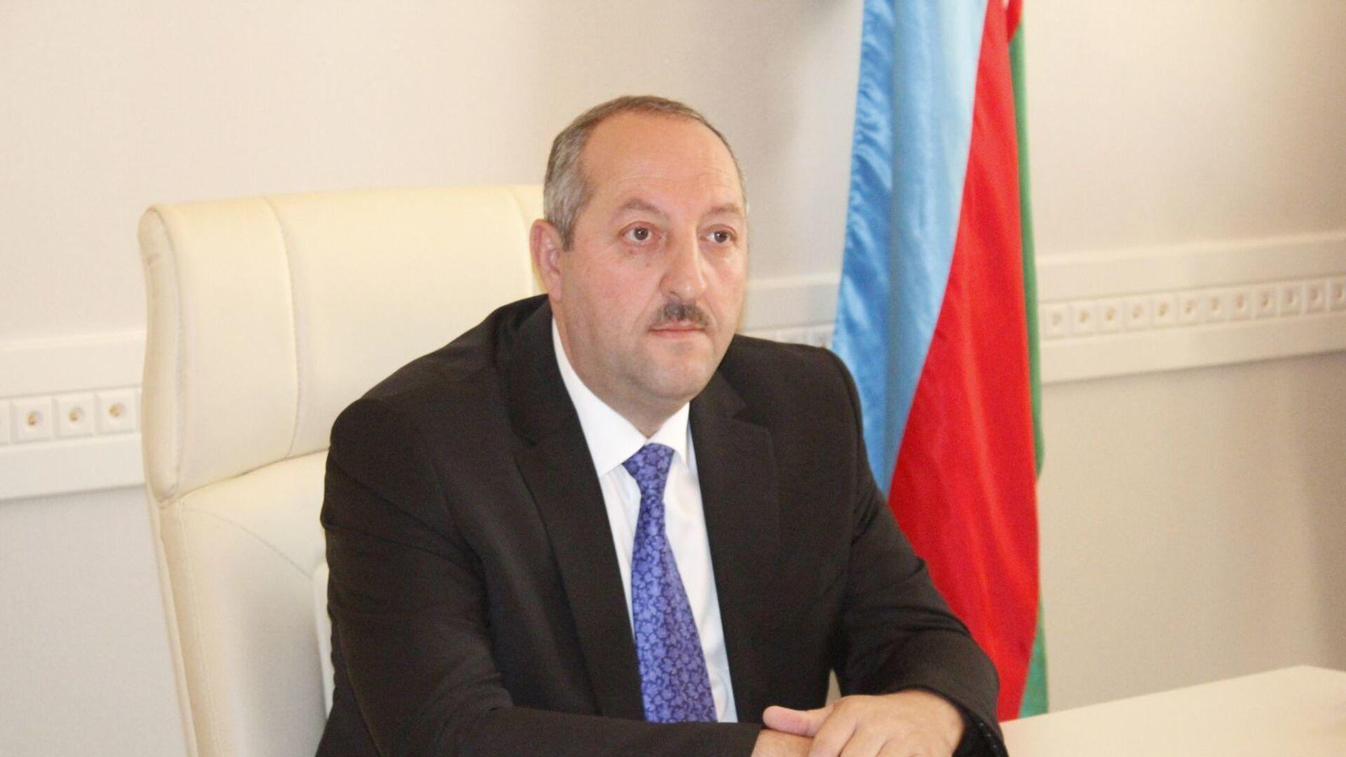 Cəlilabad rayon İcra Hakimiyyətinin sabiq başçısı Namiq Zeynalov - Sputnik Azərbaycan, 1920, 12.10.2021