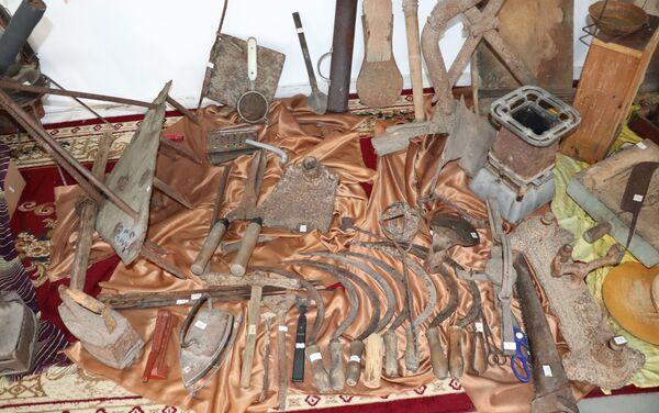 Историко-краеведческий музей в селе Какалос Астаринского района - Sputnik Азербайджан