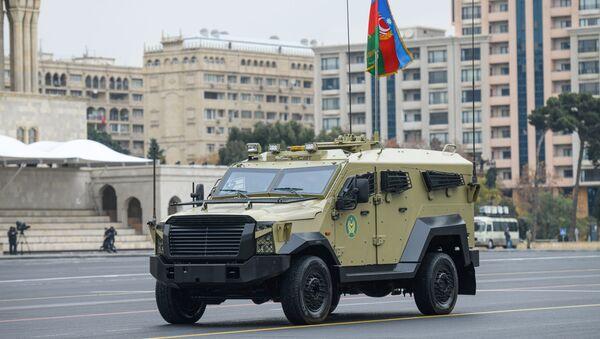 Подготовка к параду в Баку - Sputnik Азербайджан