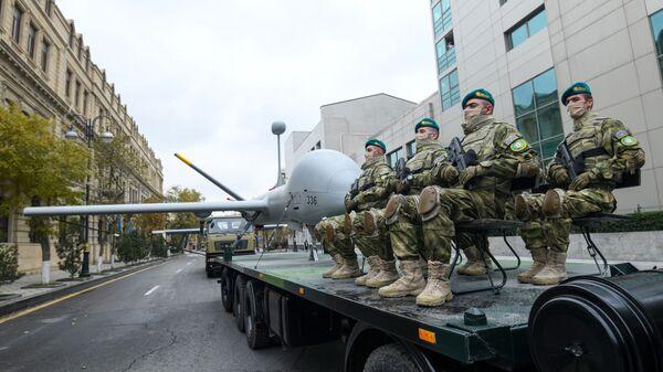 Bakıda parada hazırlıq - Sputnik Азербайджан