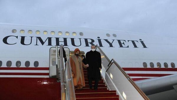 Президент Турции Реджеп Тайип Эрдоган прибыл с визитом в Азербайджан, фото из архива - Sputnik Азербайджан