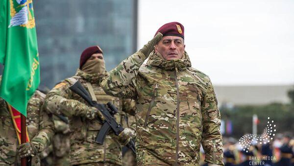 Командующий Силами специального назначения – генерал-лейтенант Хикмет Мирзаев, фото из архива - Sputnik Azərbaycan