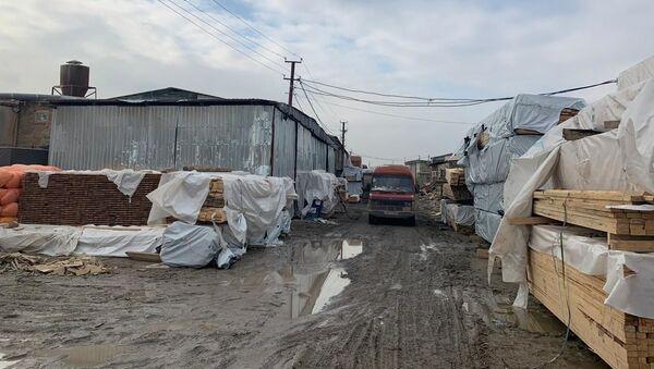Рынок строительных материалов в Наримановском районе - Sputnik Азербайджан