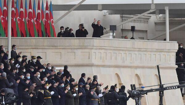 Президент Турции Реджеп Тайип Эрдоган в Баку, фото из архива - Sputnik Azərbaycan