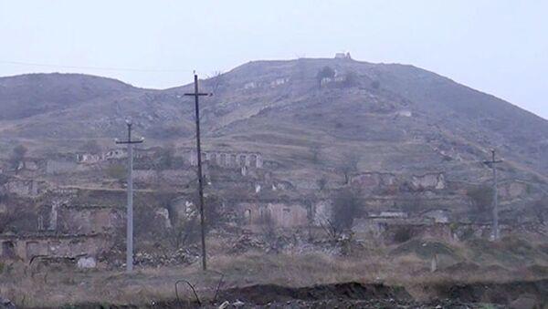 Cəbrayıl rayonunun Şahvələdli və İmambağı kəndi - Sputnik Азербайджан