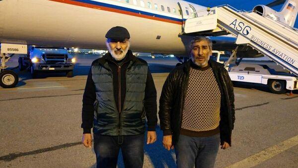 Şahbaz Quliyev və Dilqəm Əsgərov - Sputnik Азербайджан