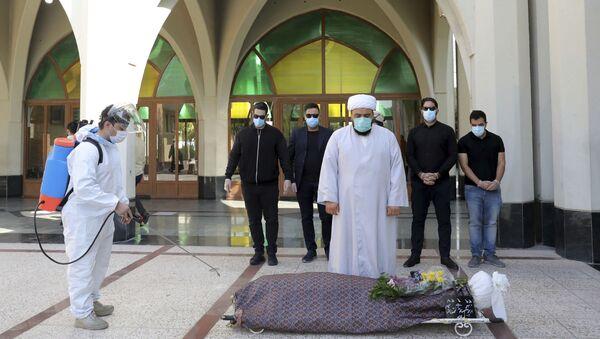 Ситуация в связи с эпидемиологической обстановкой в Иране - Sputnik Azərbaycan