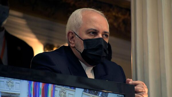 Министр иностранных дел Ирана Мохаммад Джавад Зариф, фото из архива - Sputnik Azərbaycan
