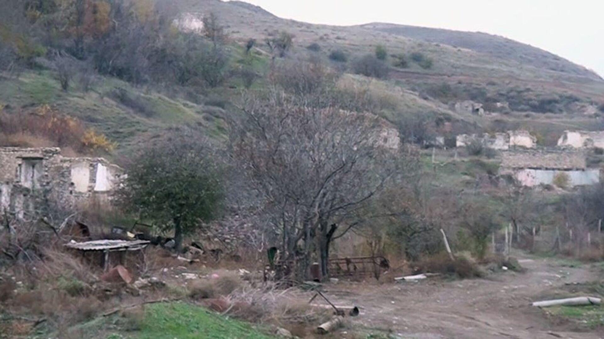 Cəbrayıl rayonunun Məzrə kəndi - Sputnik Azərbaycan, 1920, 05.10.2021