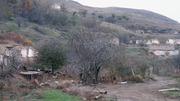 Cəbrayıl rayonunun Məzrə kəndi - Sputnik Azərbaycan