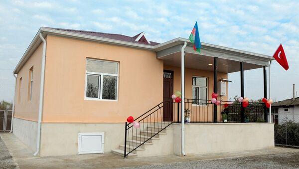 Дом построенный для семей шехидов - Sputnik Азербайджан
