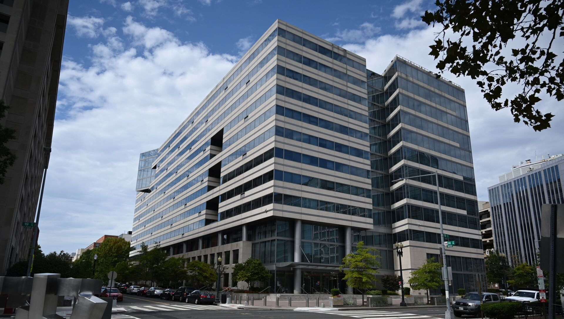 Здание Всемирного банка в Вашингтоне - Sputnik Azərbaycan, 1920, 17.09.2021