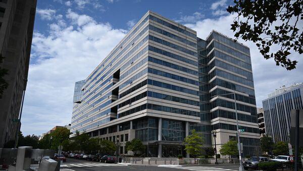 Здание Всемирного банка в Вашингтоне - Sputnik Азербайджан
