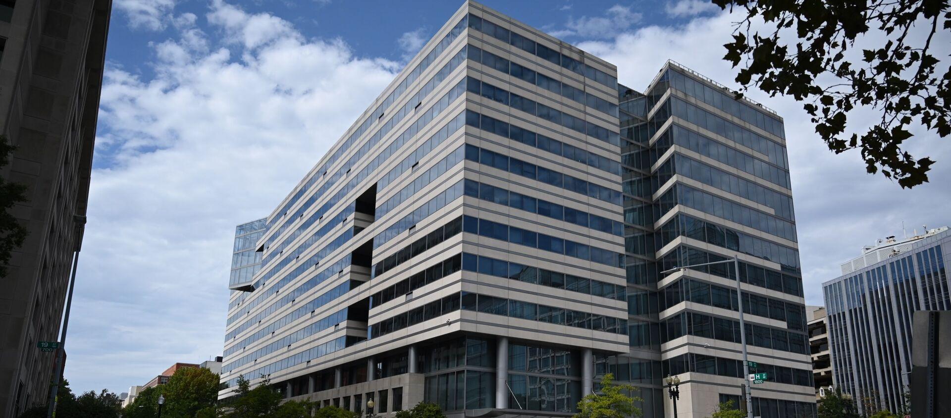 Здание Всемирного банка в Вашингтоне - Sputnik Азербайджан, 1920, 30.03.2021