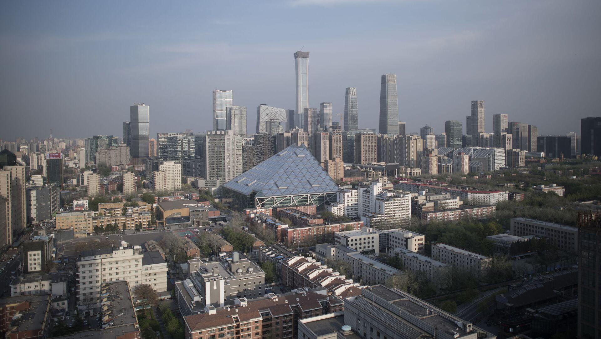 Вид на город Пекин, фото из архива - Sputnik Azərbaycan, 1920, 22.09.2021