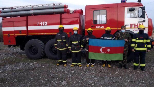 FHN əməkdaşları - Sputnik Азербайджан