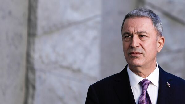 Министр национальной обороны Турции Хулуси Акар, фото из архива - Sputnik Азербайджан