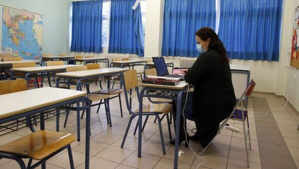 Дистанционное образование, фото из архива - Sputnik Azərbaycan