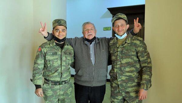 Тарлан Аскерли и Руфат Джаббаров - Sputnik Азербайджан