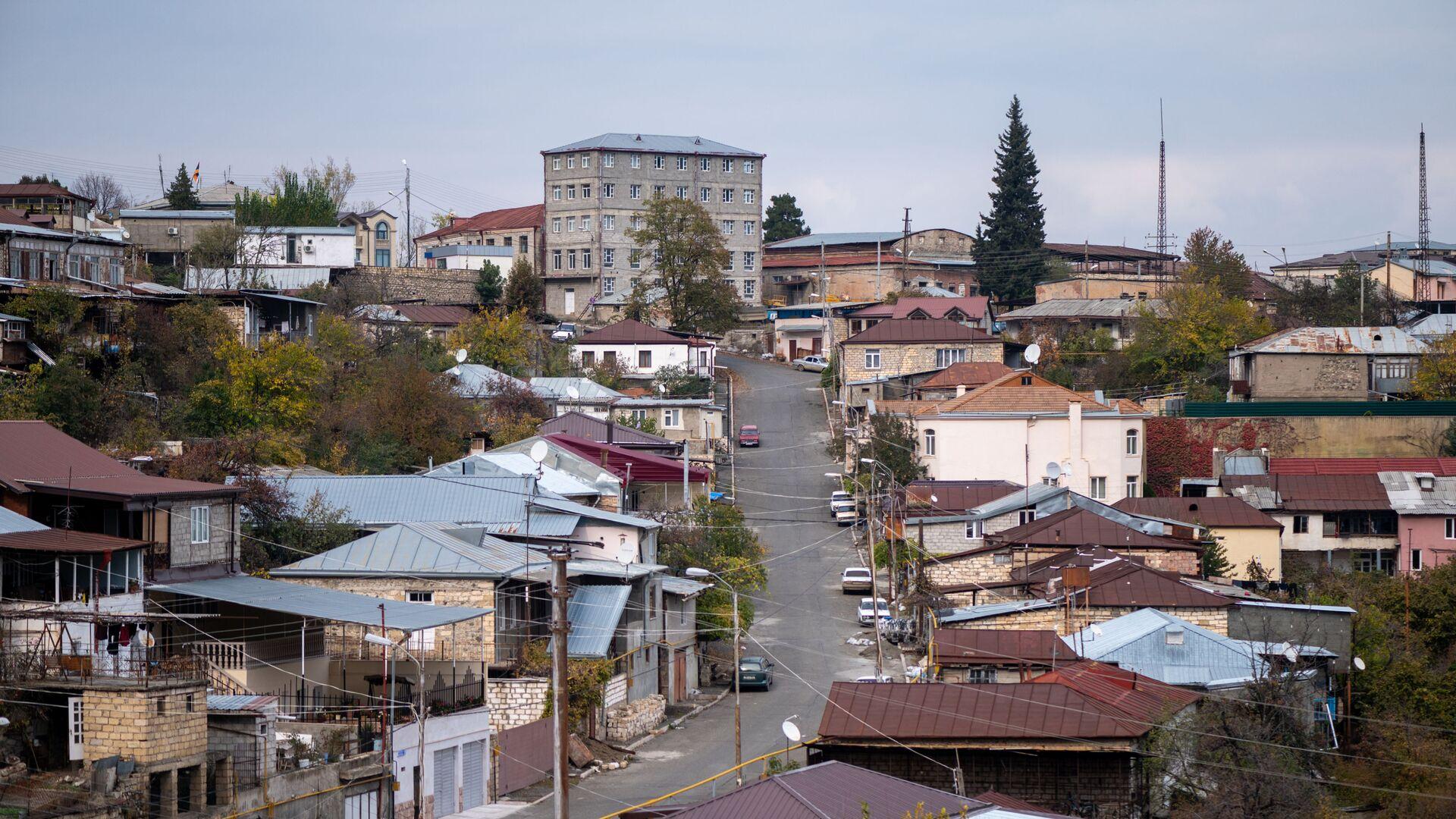 Вид на город Ханкенди, фото из архива - Sputnik Azərbaycan, 1920, 01.09.2021