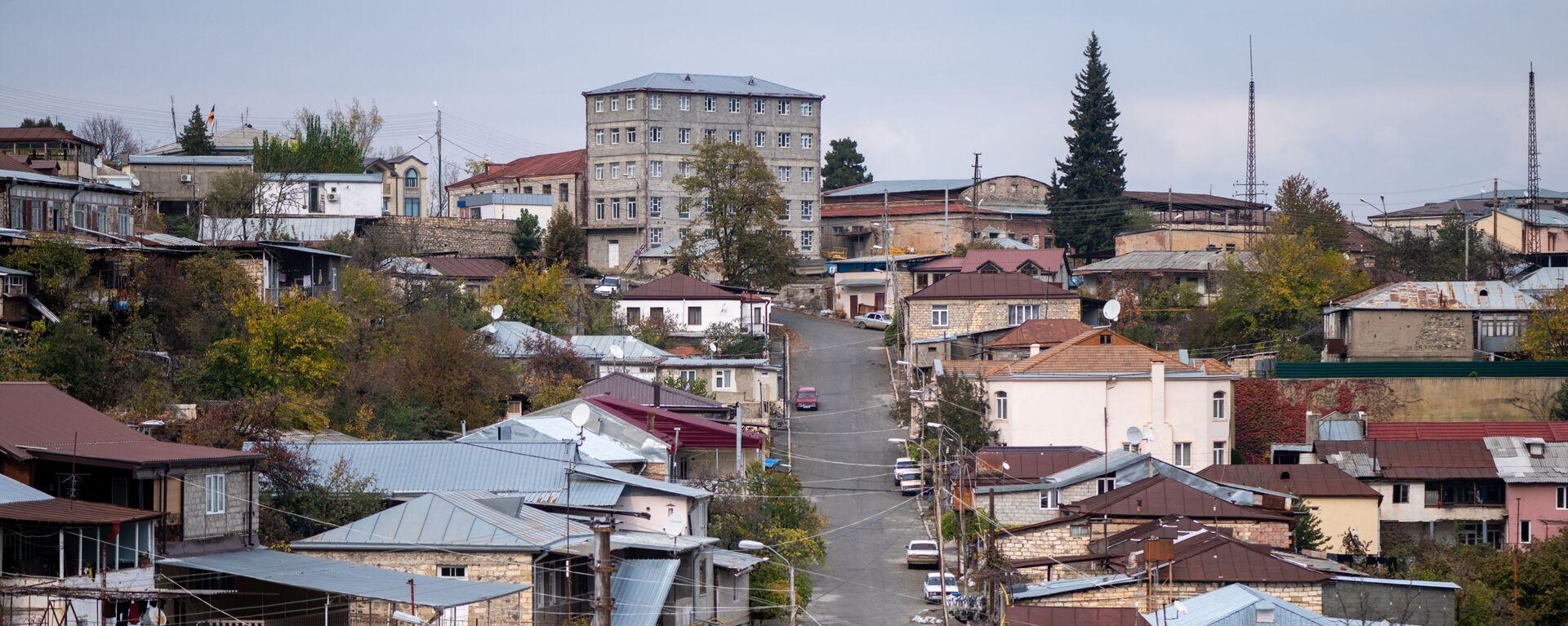 Вид на город Ханкенди, фото из архива - Sputnik Azərbaycan, 1920, 28.07.2021
